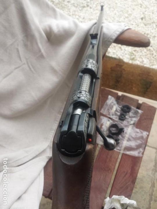 Militaria: Krico de lujo , grabado , calibre 243 win - Foto 12 - 169567292