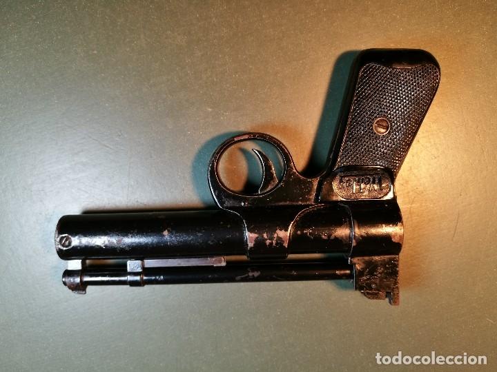 Militaria: PISTOLA AIRE COMPRIMIDO POR MUELLE- Webley Junior .177 Air Pistol (1952-1958) - REF-CV - Foto 2 - 169814152