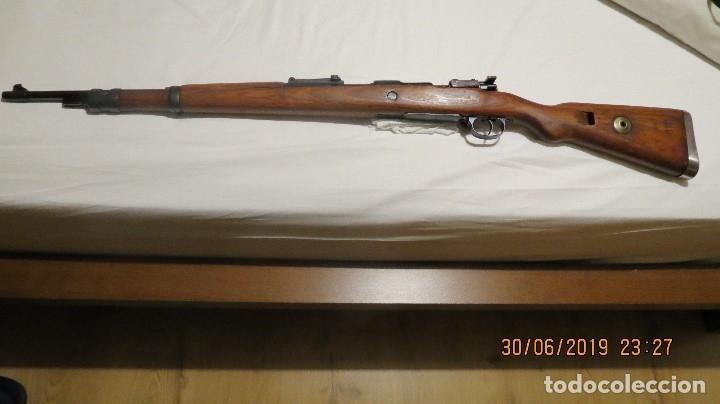 FUSIL MAUSER KAR 98 ALEMÁN, REACONDICIONADO POR YUGOSLAVIA (Militar - Armas de Fuego en Uso)