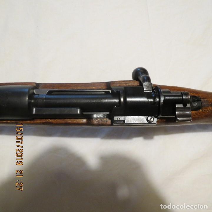 Militaria: Fusil Mauser KAR 98 alemán, reacondicionado por Yugoslavia - Foto 4 - 172624259