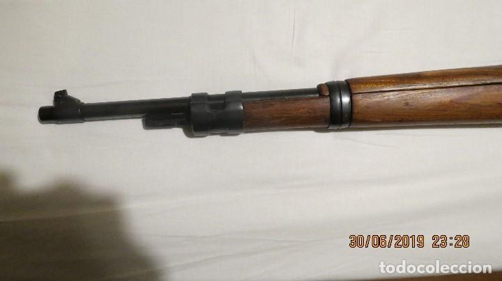 Militaria: Fusil Mauser KAR 98 alemán, reacondicionado por Yugoslavia - Foto 9 - 172624259
