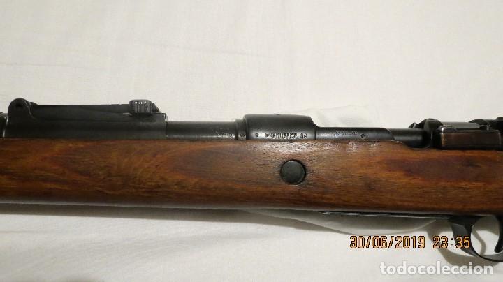 Militaria: Fusil Mauser KAR 98 alemán, reacondicionado por Yugoslavia - Foto 11 - 172624259