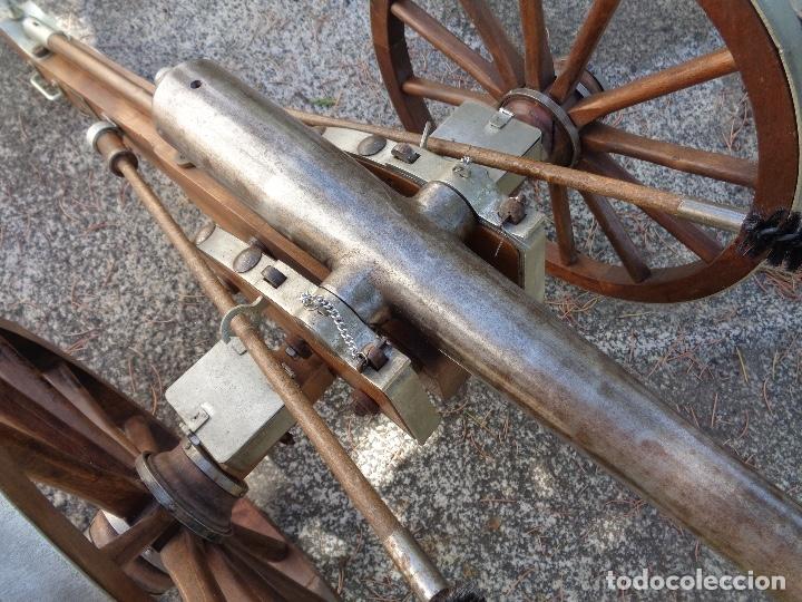 Militaria: replica cañón español guerra independencia, 71 ctms. largo - Foto 5 - 172884572