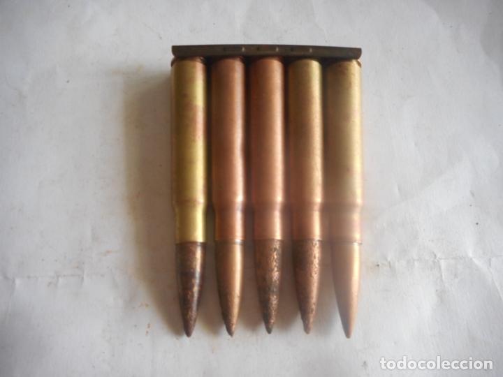Militaria: gce peine 7,92x57 mauser inerte - Foto 2 - 173982669