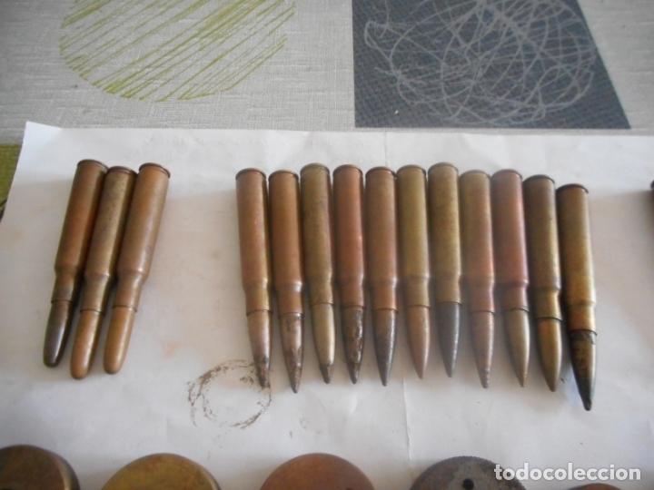 Militaria: gce lote de municion y varios inerte nº1 - Foto 2 - 175326635