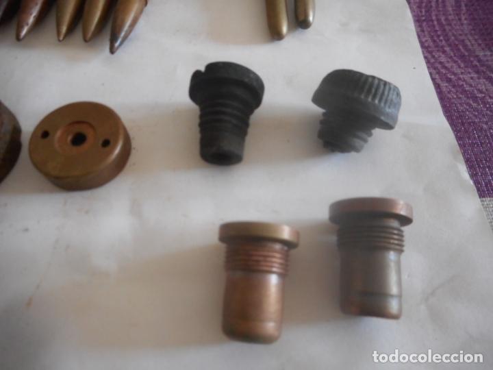Militaria: gce lote de municion y varios inerte nº1 - Foto 3 - 175326635