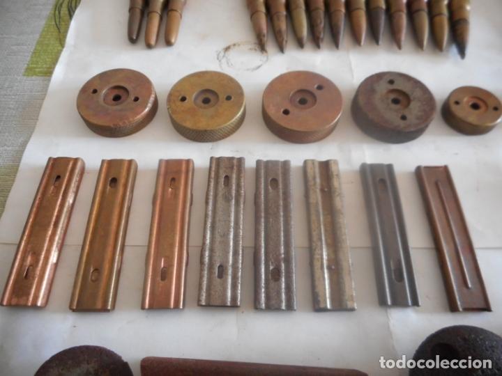 Militaria: gce lote de municion y varios inerte nº1 - Foto 6 - 175326635