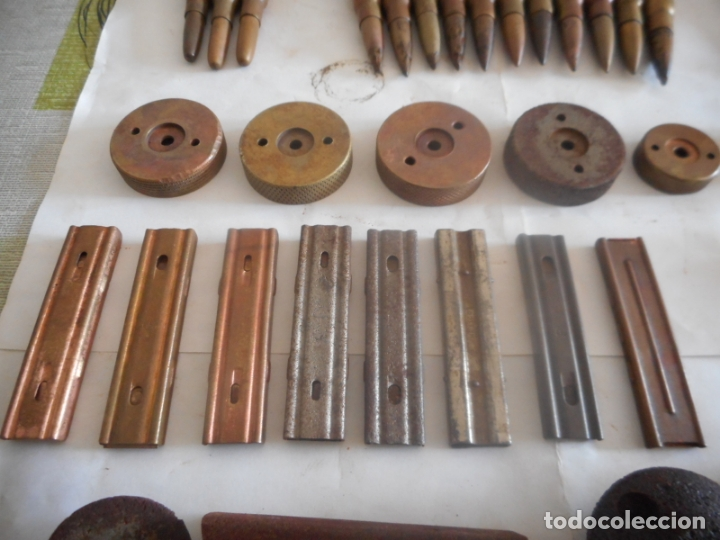 Militaria: gce lote de municion y varios inerte nº1 - Foto 7 - 175326635