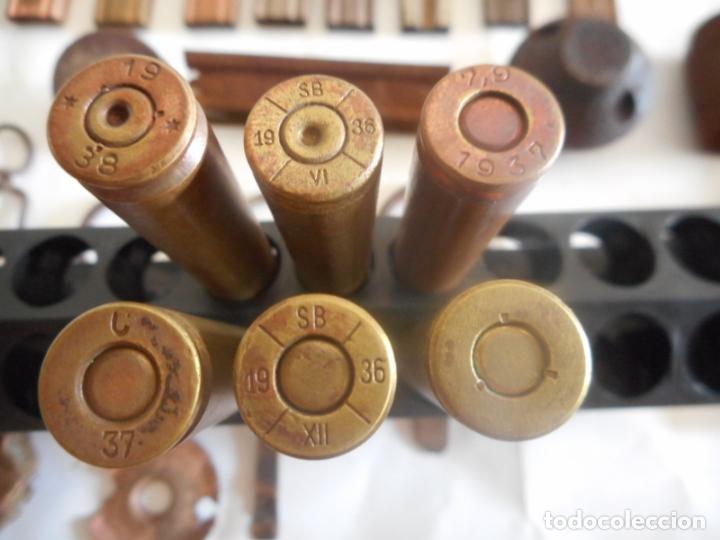 Militaria: gce lote de municion y varios inerte nº1 - Foto 12 - 175326635