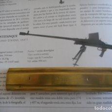 Militaria: PEINE PARA CARTUCHOS DEL CALIBRE 55 BOYS INERTE. Lote 175343113