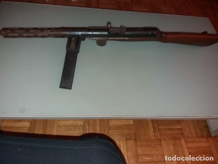 Militaria: Subfusil automático ametrallador, modelo Coruña, 9mm. - Foto 3 - 175577202