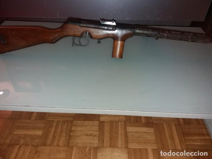 Militaria: Subfusil automático ametrallador, modelo Coruña, 9mm. - Foto 4 - 175577202