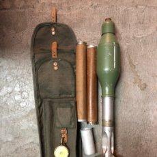 Militaria: MORTERO DE ENTRENAMIENTO M-65 COMPLETO CON BOLSA. Lote 176802137