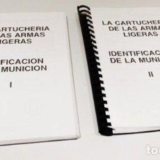 Militaria: 2 LIBROS CATALOGOS PARA IDENTIFICACIÓN. Lote 176936010
