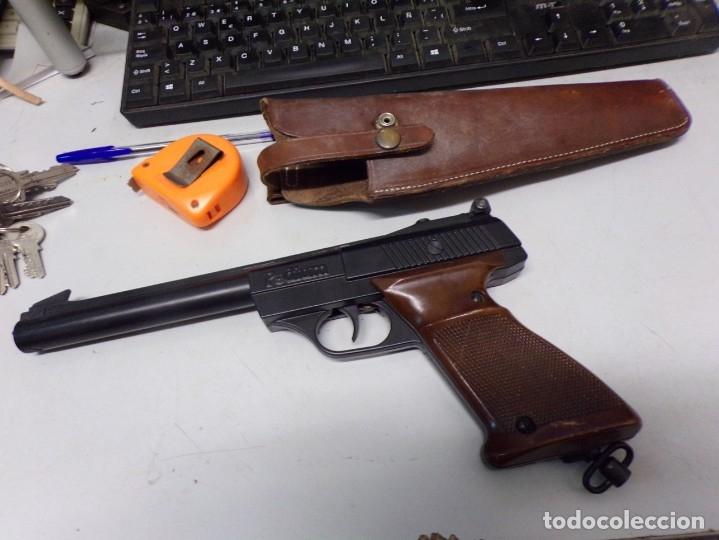 Militaria: pistola podium co2 con cartuchera 4,5mm - Foto 2 - 177582929