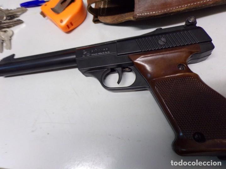 Militaria: pistola podium co2 con cartuchera 4,5mm - Foto 3 - 177582929
