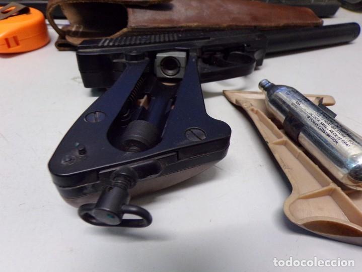 Militaria: pistola podium co2 con cartuchera 4,5mm - Foto 5 - 177582929