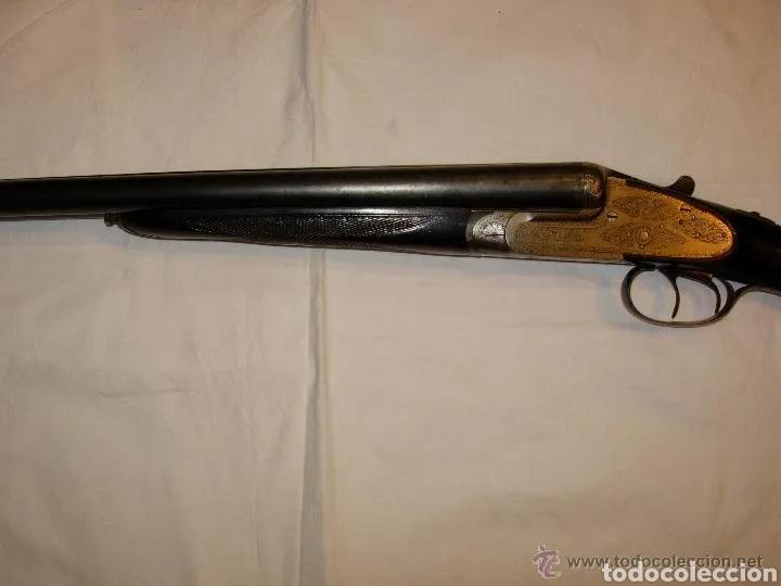Militaria: Escopeta antigua de la prestigiosa marca Jabali, perfecto estado y funcionando - Foto 3 - 177660247