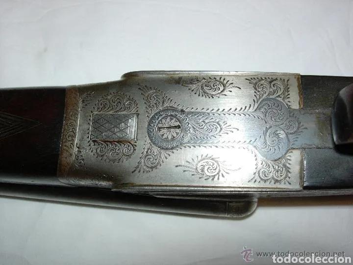 Militaria: Escopeta antigua de la prestigiosa marca Jabali, perfecto estado y funcionando - Foto 19 - 177660247