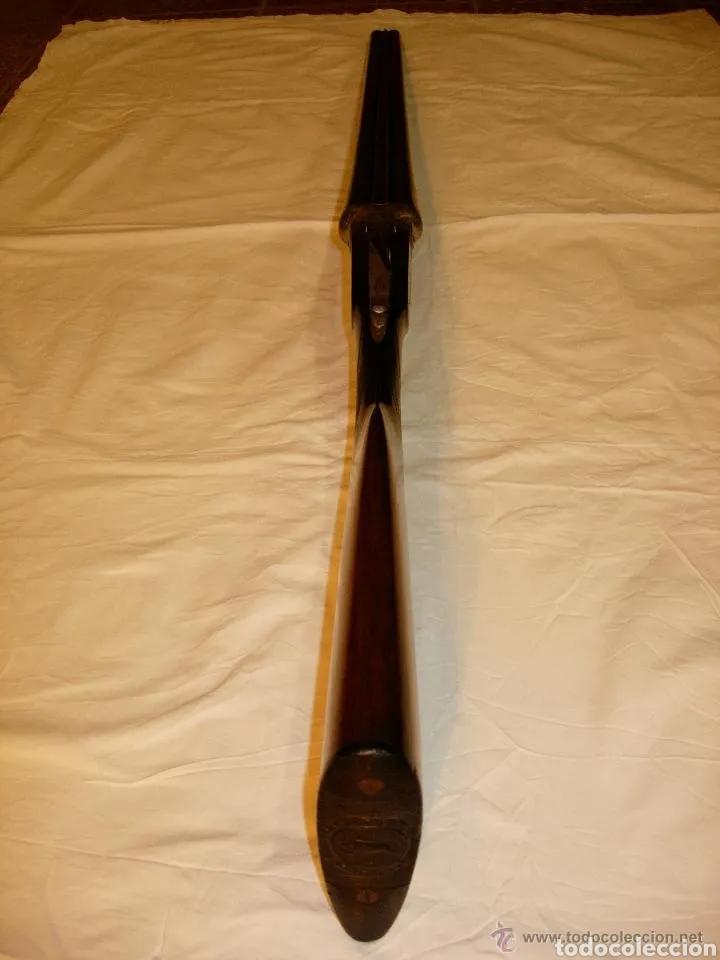 Militaria: Escopeta antigua de la prestigiosa marca Jabali, perfecto estado y funcionando - Foto 21 - 177660247