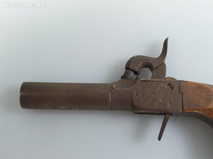 Militaria: arma de fuego siglo XIX inglesa marcado con contraste - Foto 6 - 178186087