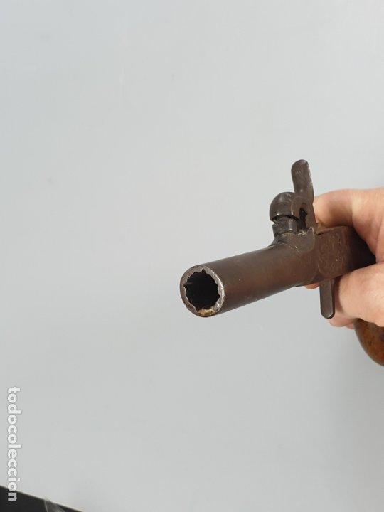 Militaria: arma de fuego siglo XIX inglesa marcado con contraste - Foto 8 - 178186087