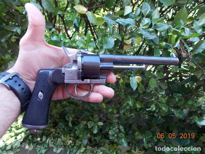 REVOLVER LEFAUCHEUX MILITAR MODELO 1863 (Militar - Armas de Fuego Inutilizadas)