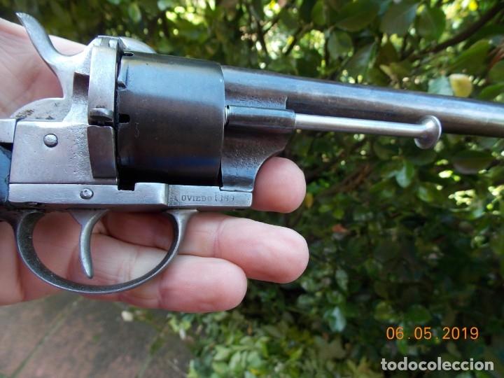 Militaria: Revolver Lefaucheux Militar Modelo 1863 - Foto 2 - 178710955