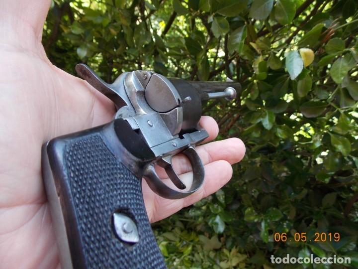Militaria: Revolver Lefaucheux Militar Modelo 1863 - Foto 3 - 178710955
