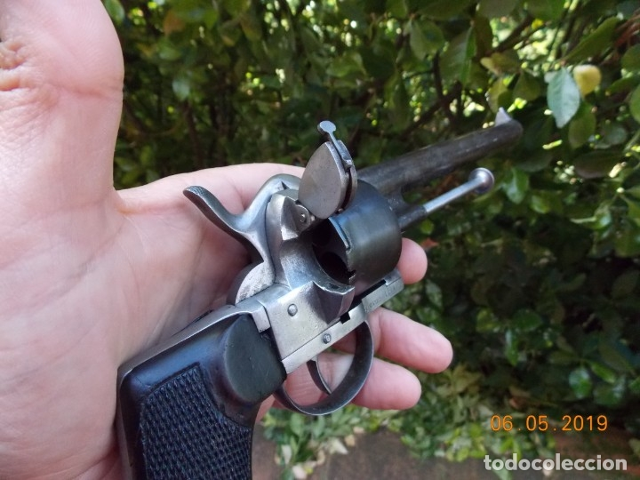 Militaria: Revolver Lefaucheux Militar Modelo 1863 - Foto 4 - 178710955