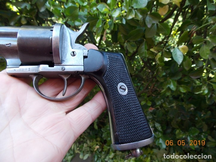 Militaria: Revolver Lefaucheux Militar Modelo 1863 - Foto 7 - 178710955