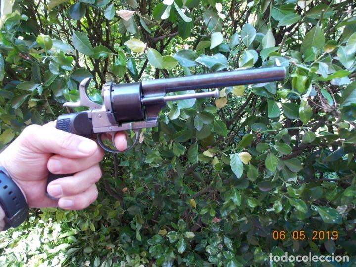 Militaria: Revolver Lefaucheux Militar Modelo 1863 - Foto 8 - 178710955