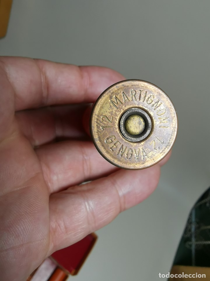 Militaria: CAJA PUBLICITARIA CARTUCHOS DE CAZA 12 MM CARTON MGM-DRÔME-FRANCIA SIGLO XIX CON 9ud.INERTES-VACIOS - Foto 28 - 179001650
