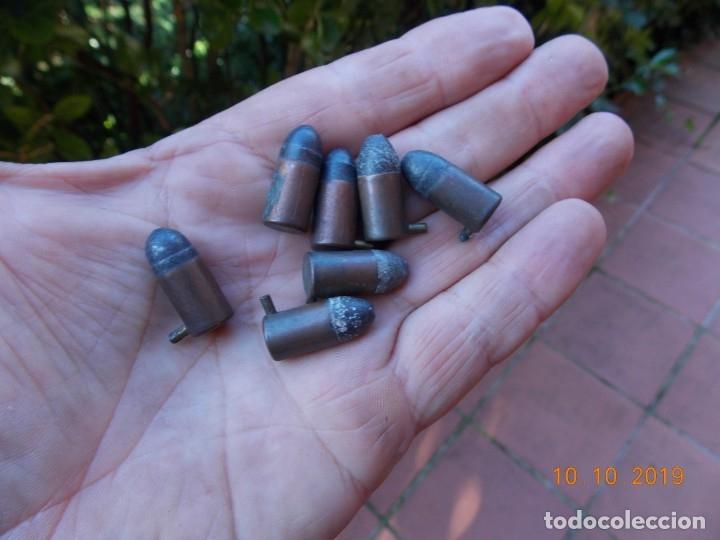 Militaria: Antiguos cartuchos Lefaucheux 9mm - Foto 2 - 179049335