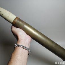 Militaria: PROYECTIL RUSO COMPLETO ANTICARRO 45MM MARCADO AÑO 1936 - GUERRA CIVIL INERTE - REF-CV. Lote 179329853