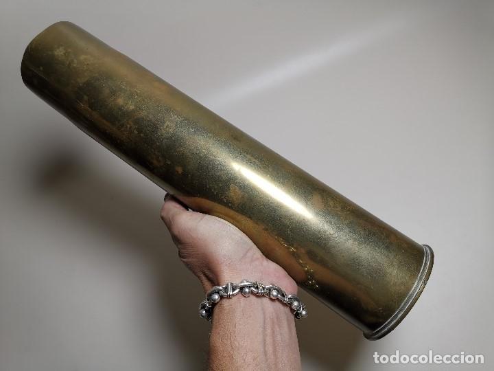 Militaria: VAINA PARA PROYECTIL 88 MM DIVES 3---L1907D-.INERTE- 35 CM ALTO--REF-CV - Foto 2 - 189502276