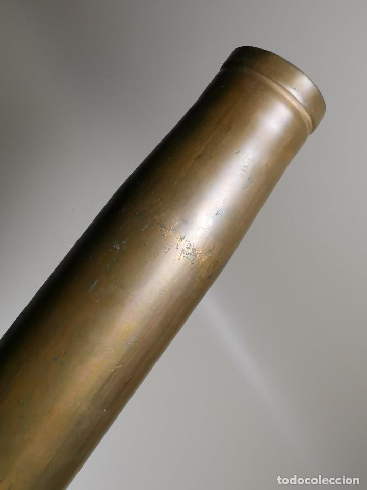 Militaria: Antigua vaina de cañon Bofors 40 mm L/70, OTAN. Explosivos Alaveses, alava--INERTE --REF-CV - Foto 6 - 179332605