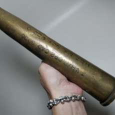 Militaria: ANTIGUA VAINA DE CAÑON 40 MM MK4 --1955--INERTE --REF-CV. Lote 179332700