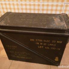 Militaria: CAJA DE MUNICIÓN MILITAR DE GRAN TAMAÑO M99 A1. Lote 180032991
