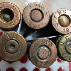 Militaria: MAUSER 7X57. LOTE DE CARTUCHOS REPUBLICANOS,GUERRA CIVIL.TODOS INERTES. Lote 180479468