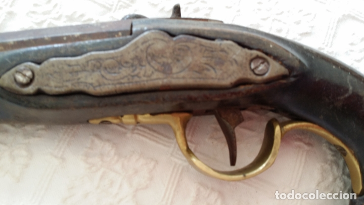 Militaria: Antigua pistola - Foto 3 - 181182315