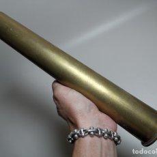 Militaria: ANTIGUA VAINA DE CAÑON 40 MM --SIN MARCAJES 30,7 MM ALTO CULOTE 5,7 MM-INERTE --REF-CV. Lote 181409965