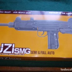 Militaria: UZI SMG AIR SOFT CARGA MANUAL. Lote 182242221