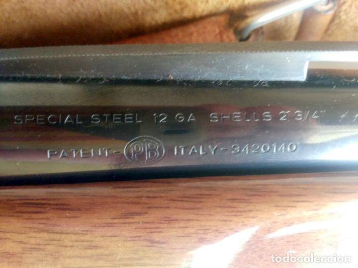 Militaria: ESCOPETA 2 SEMIAUTOMÁTICA FN BROWNING PB - SPECIAL STEEL 12 GA - B-80-SL - AF - Foto 6 - 182983783