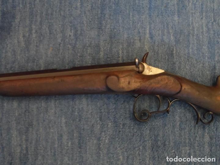RIFLE DE SALOON SISTEMA FLOBERT 6 MM BOSQUETTE. 92 CM. FRANCIA FINALES DEL SIGLO XIX (Militar - Armas de Fuego Inutilizadas)