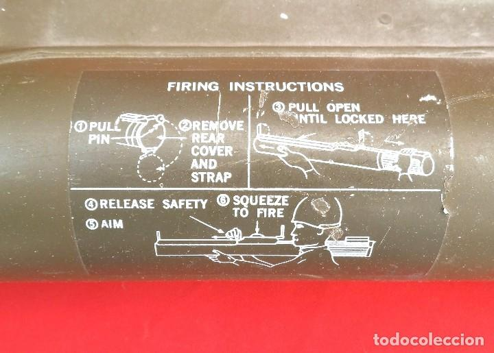 Militaria: Lanzacohetes antitanque desechable modelo M-72A2 Inerte - Foto 3 - 183388237