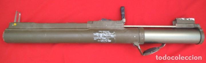 Militaria: Lanzacohetes antitanque desechable modelo M-72A2 Inerte - Foto 4 - 183388237