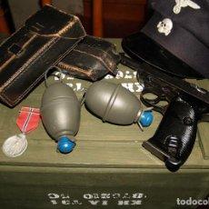 Militaria: GRANADA DE MANO M39, NO ES UNA REPRODUCCIÓN DE MADERA.. Lote 183506561