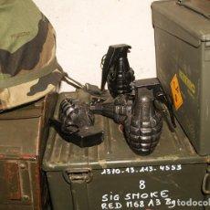 Militaria: GRANADA MK2, GRANADA DE PIÑA. Lote 184283347