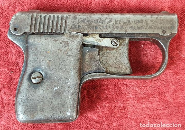 PISTOLA DETONADORA COMETA. MORITZ GERSTENBERGUER. ALEMANIA. CIRCA 1920. (Militar - Réplicas de Armas de Fuego y CO2 )